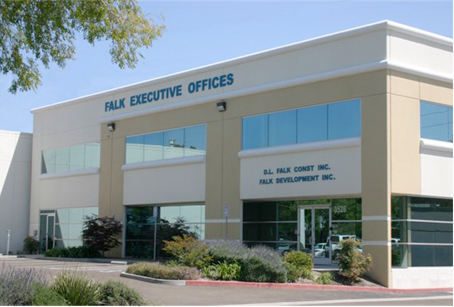 The Falk office building located in Hayward, CA